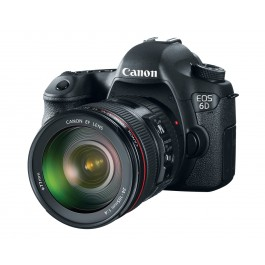 Canon EOS 6D with 24-105mm f/4L IS USM Lens