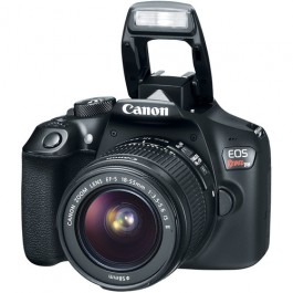 Canon EOS Rebel T6 w/ 18-55mm IS II Zoom Lens