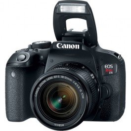 Canon EOS Rebel T7i w/ 18-55mm IS STM Lens