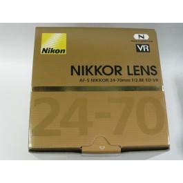 Nikon AF-S NIKKOR 24-70mm f/2.8E ED Lens VR