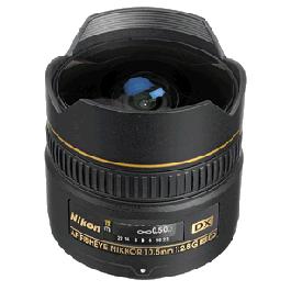 Nikon AF DX Fisheye-NIKKOR 10.5mm f/2.8G ED Lens