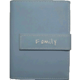 "Pioneer 4x6 Light Blue Photo Album, ""Family"""
