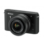 Nikon 1 J1 body w/ 10-30mm VR Lens (Black)