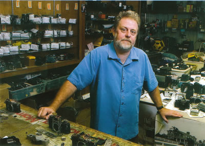 An image of Mark Blane, one of our repair technicians