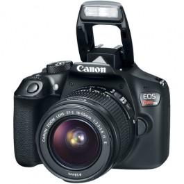 Canon EOS Rebel T6 w/ 18-55mm IS II Zoom Lens