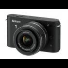 Nikon 1 J1 body w/ 10-30mm VR Lens (Black)